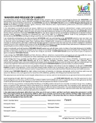 Yupi Palace Release Form